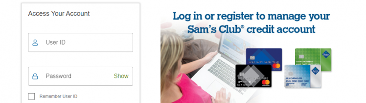 Sam s Club Credit Card Logo