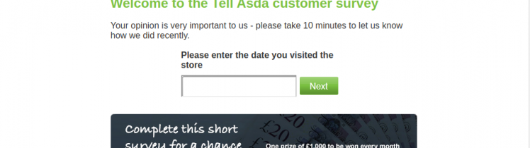 Tell ASDA Survey