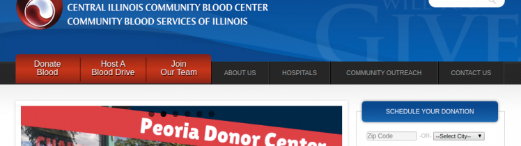 Mississippi Valley Regional Blood Center Logo