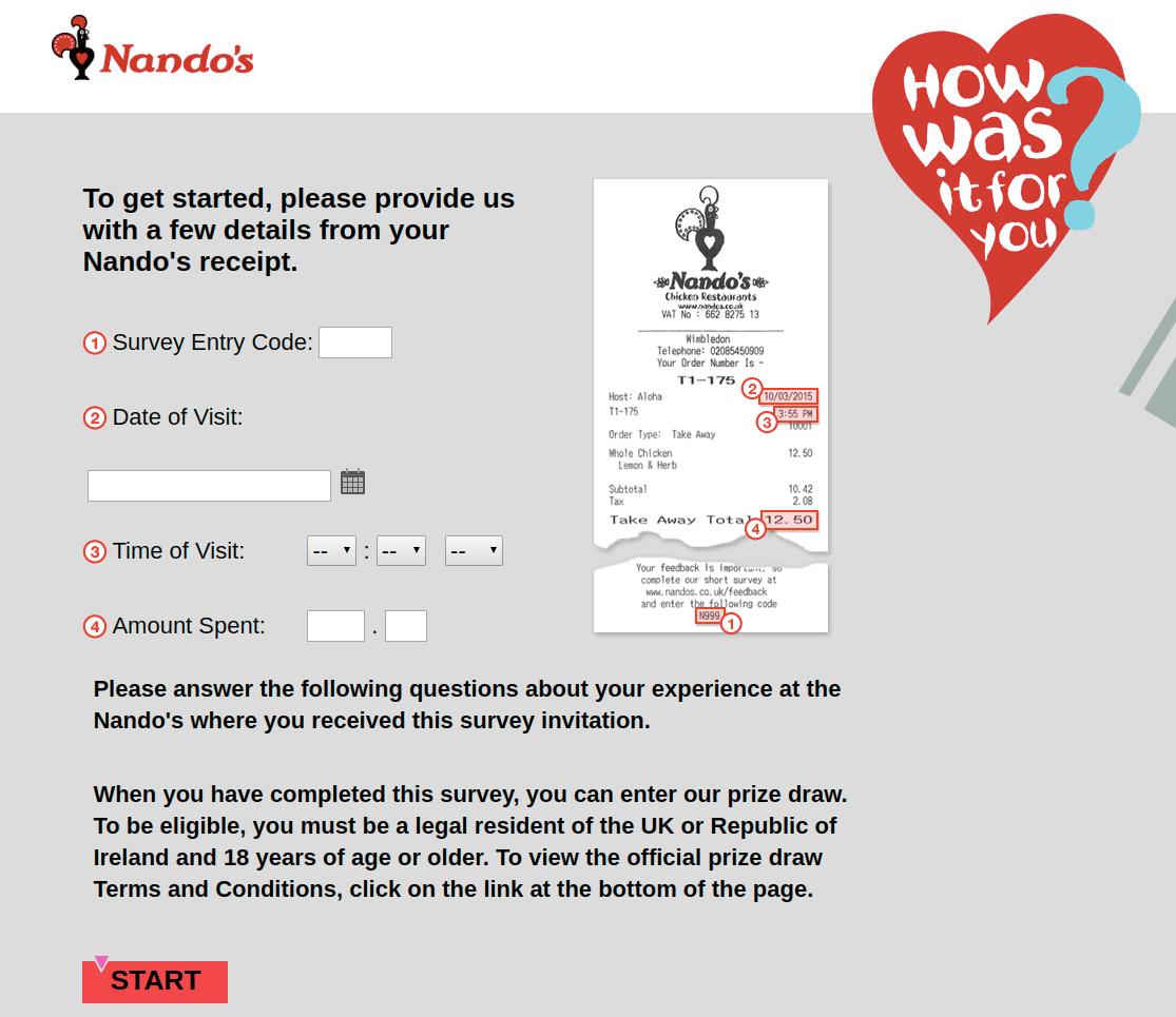 Nandos Survey