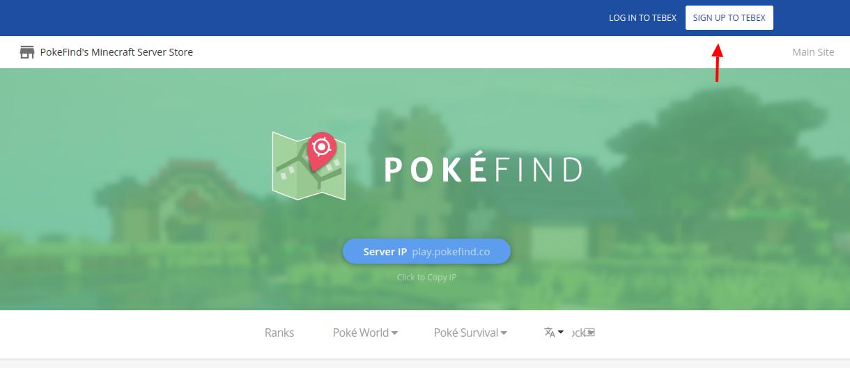 PokéFind Sign Up