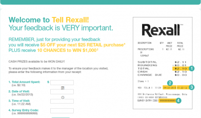 Rexall Survey