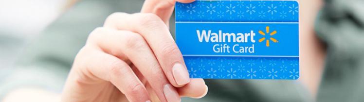 Walmart giftcards