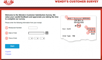 Wendys Customer Survey Logo