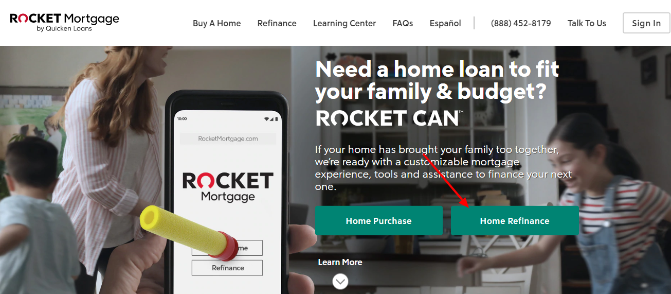 Rocket Mortgage Home Reference