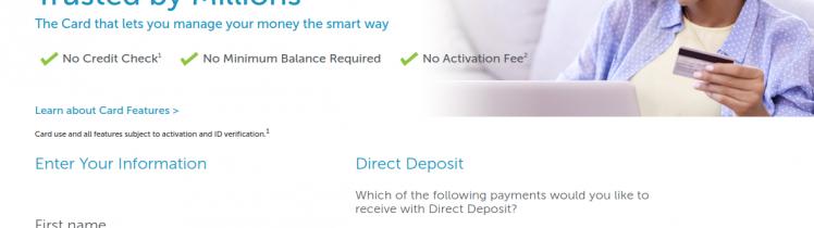 Netspend Visa Prepaid Card Apply