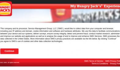 My HUNGRY JACK S Experience Survey