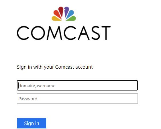 Comcast Employee login
