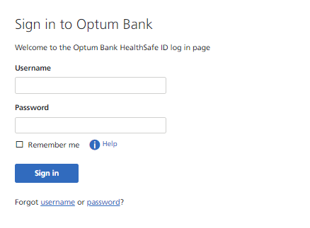 Optum Bank Login