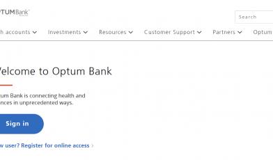 Optum Health Financial Login