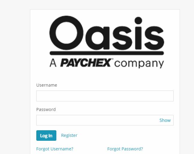 oasis assistant login