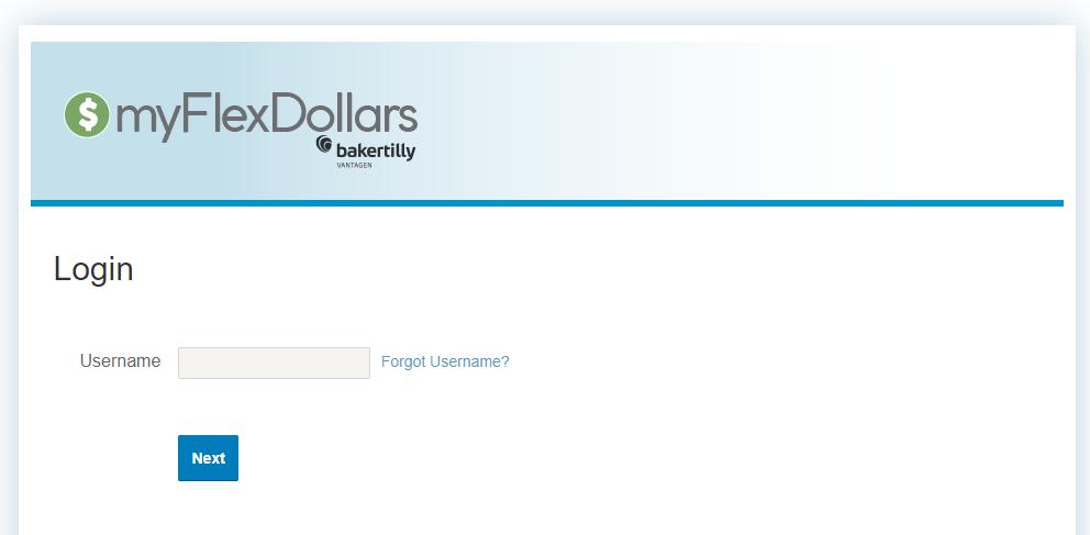 my flex dollars login